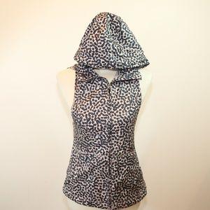 Lululemon Animal Print Sleeveless hoodie jacket 2